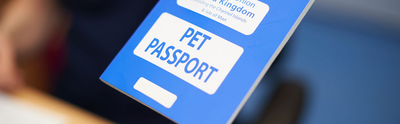 Pet passports / Animal Health Certification